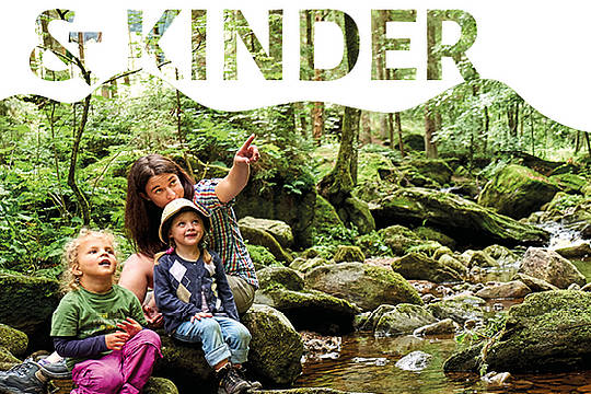 Pocketguide Familie & Kinder in der Ferienregion Nationalpark Bayerischer Wald