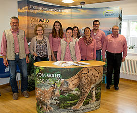 Messestand Ferienregion Nationalpark Bayerischer Wald