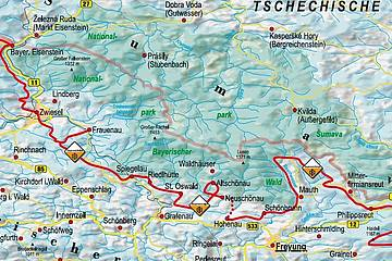 Nationalpark Bayerischer Wald Karte.Wandern Und Urlaub Im Nationalpark Bayerischer Wald